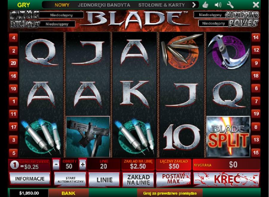 Automat Wrzutowy Blade Darmowe