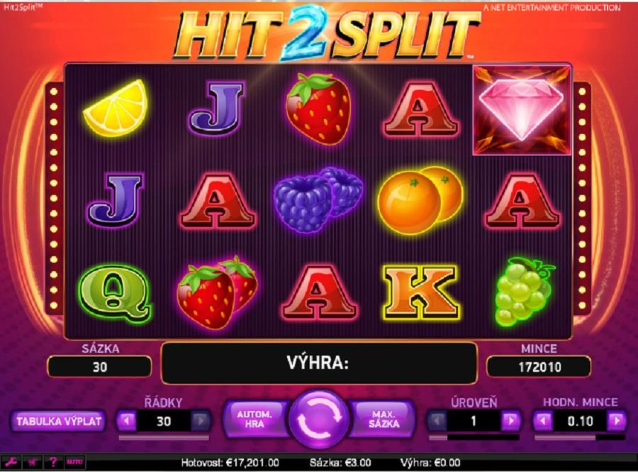 Automatové hry Hit 2 Split