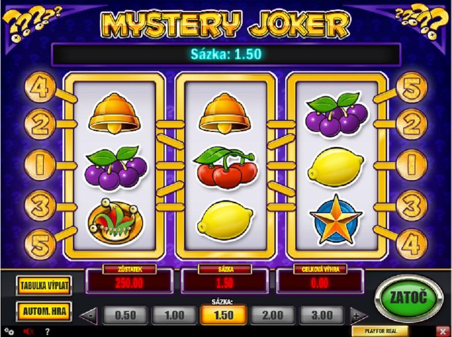 Automatové hry Mystery Joker