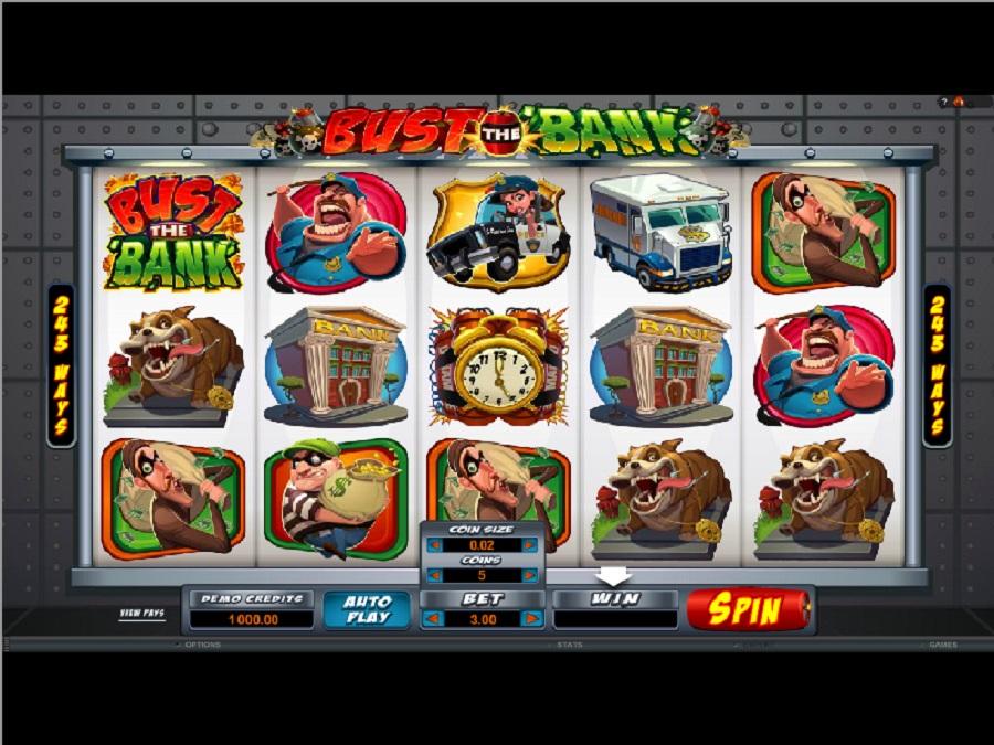 Automaty Darmowe Bust the Bank Online