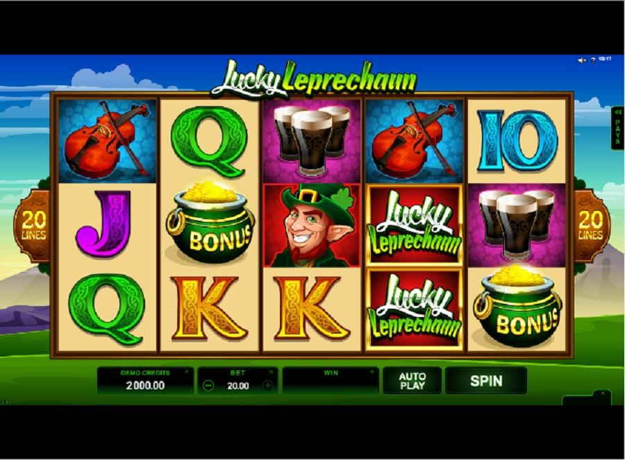 Automaty Do Gry Lucky Leprechaun