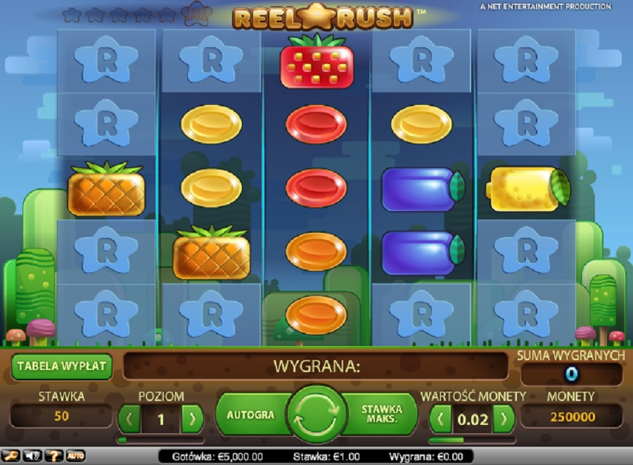 Automaty Do Gry Online Reel Rush