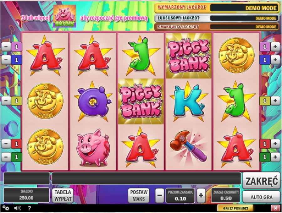 Automaty Do Gry Piggy Bank