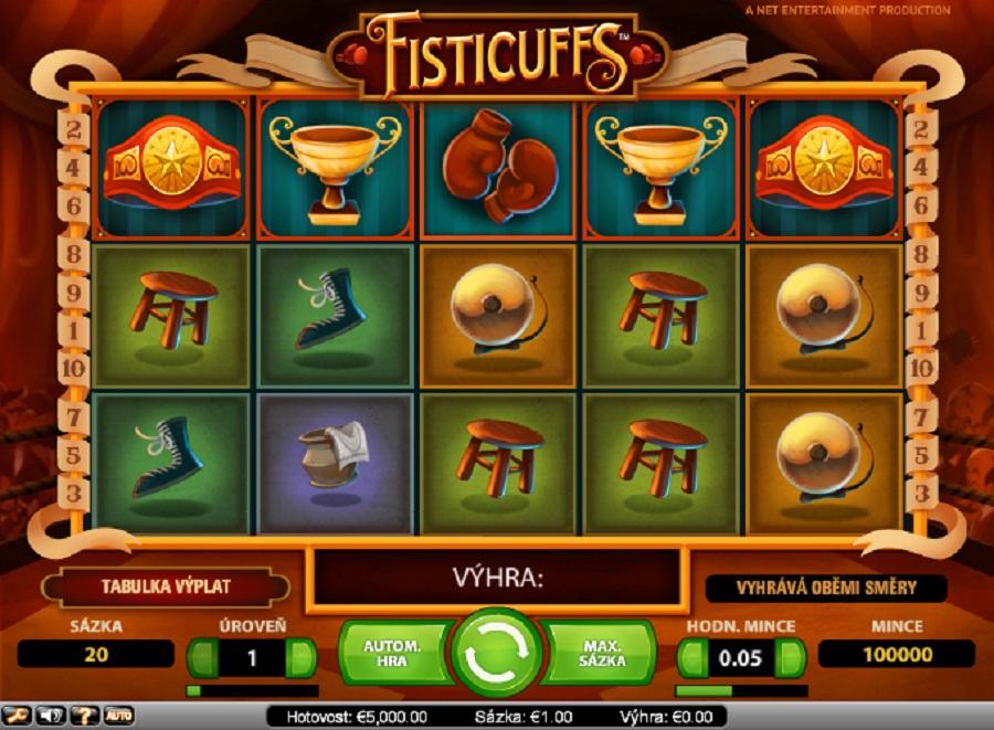 Automaty Fisticuffs online