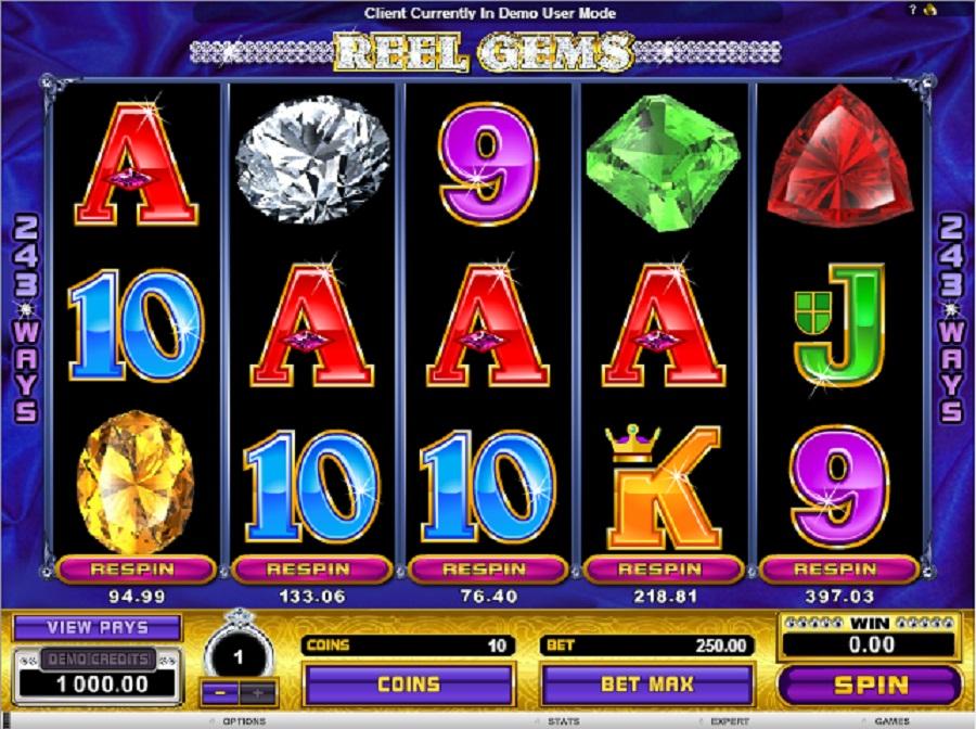 Automaty Reel Gems