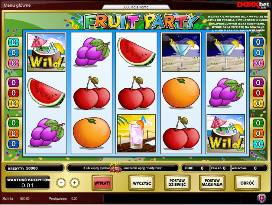 Automaty do gry Fruit Party