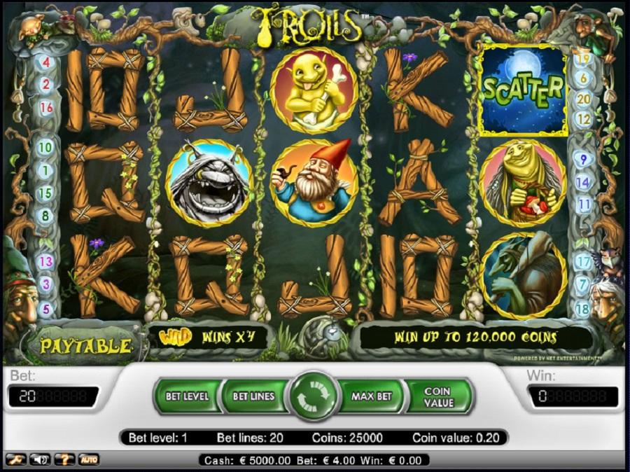 Automaty do gry Trolls Online
