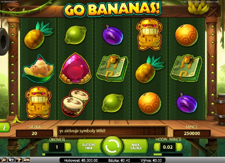 Automaty hry Go Bananas