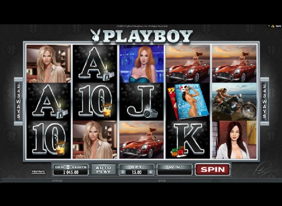 Automaty online Playboy zadarmo
