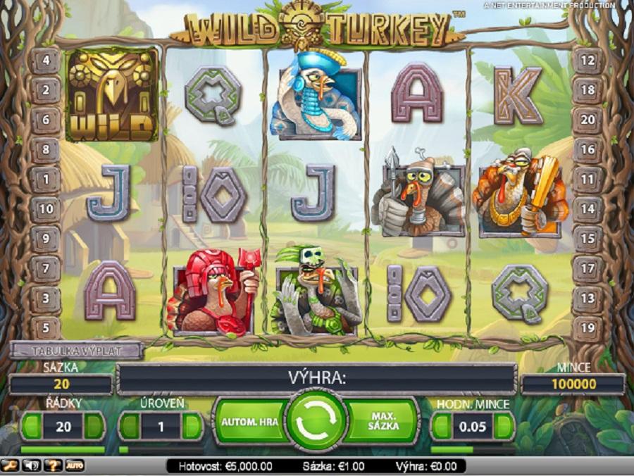 Automaty online Wild Turkey