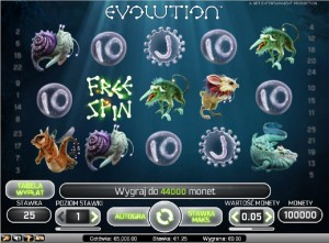 Automaty wrzutowe Evolution Darmowe