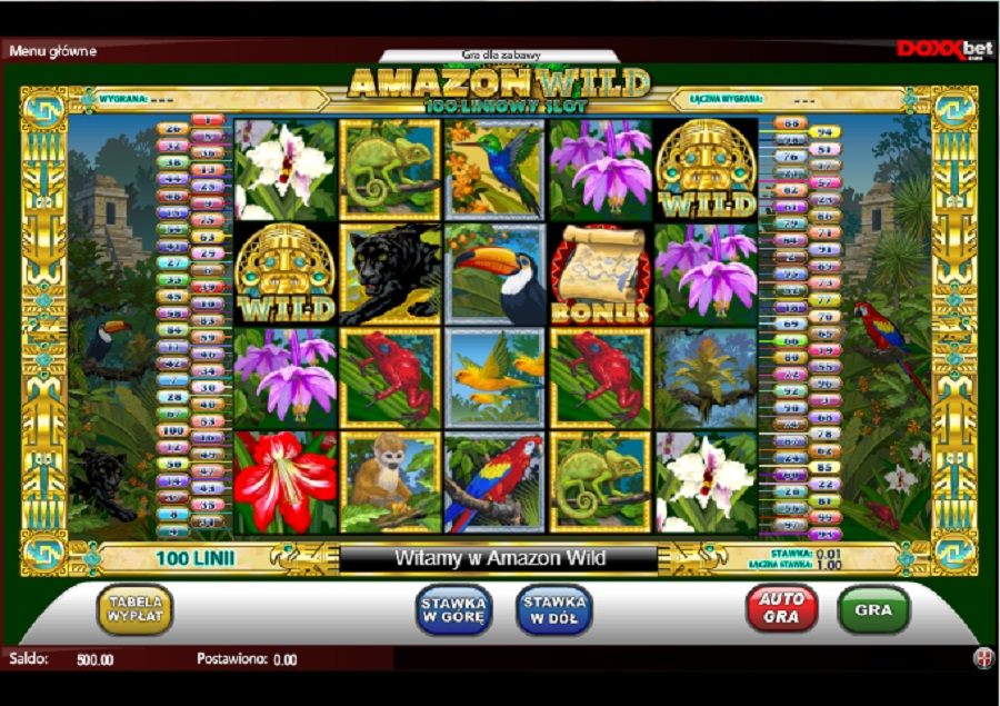 Darmowe Automaty Do Gry Amazon Wild