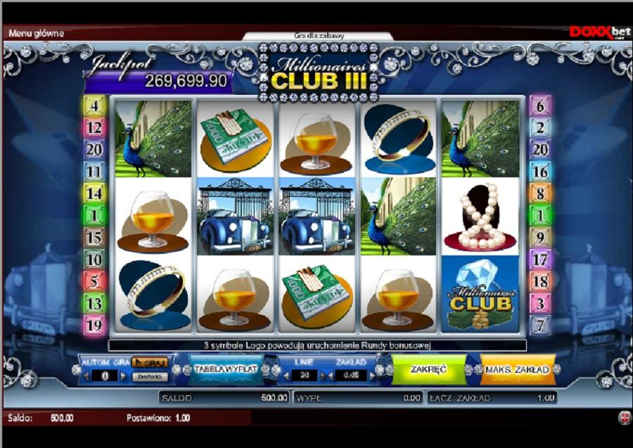 Darmowe Automaty Do Gry Klub Millionaire