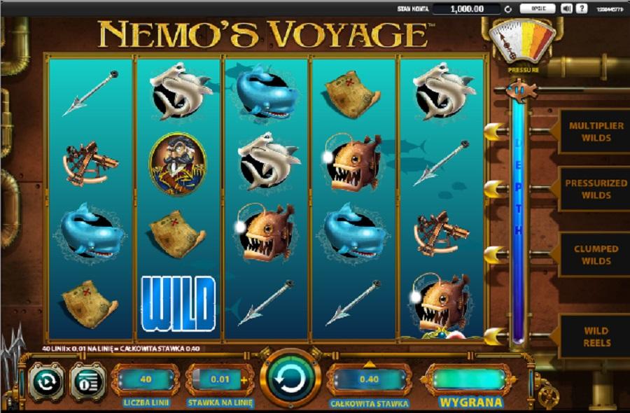 Darmowe Automaty Do Gry Nemo´s Voyage