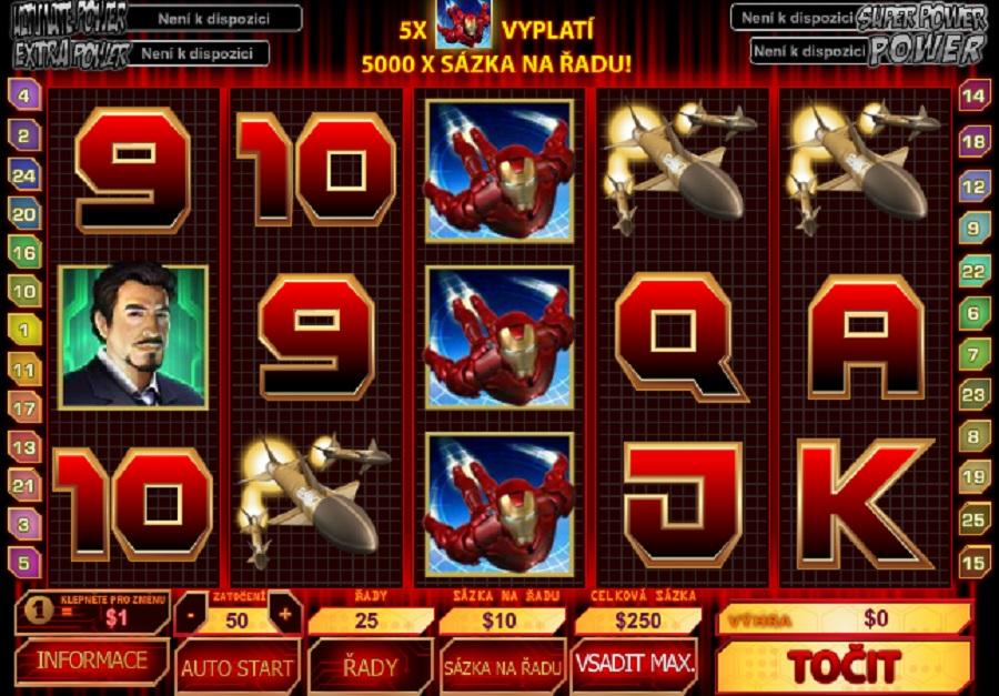 Darmowe gry automaty Iron man 2