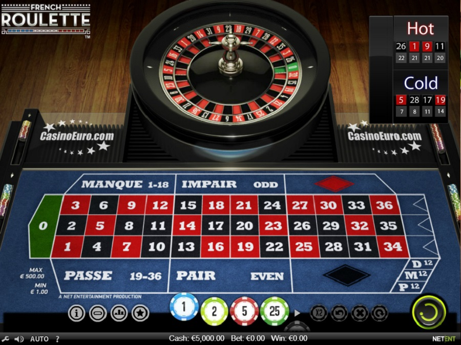 Francouzská Ruleta online