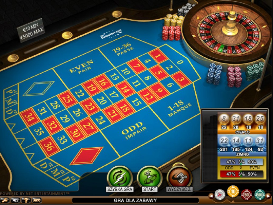 French Roulette Online Darmowe