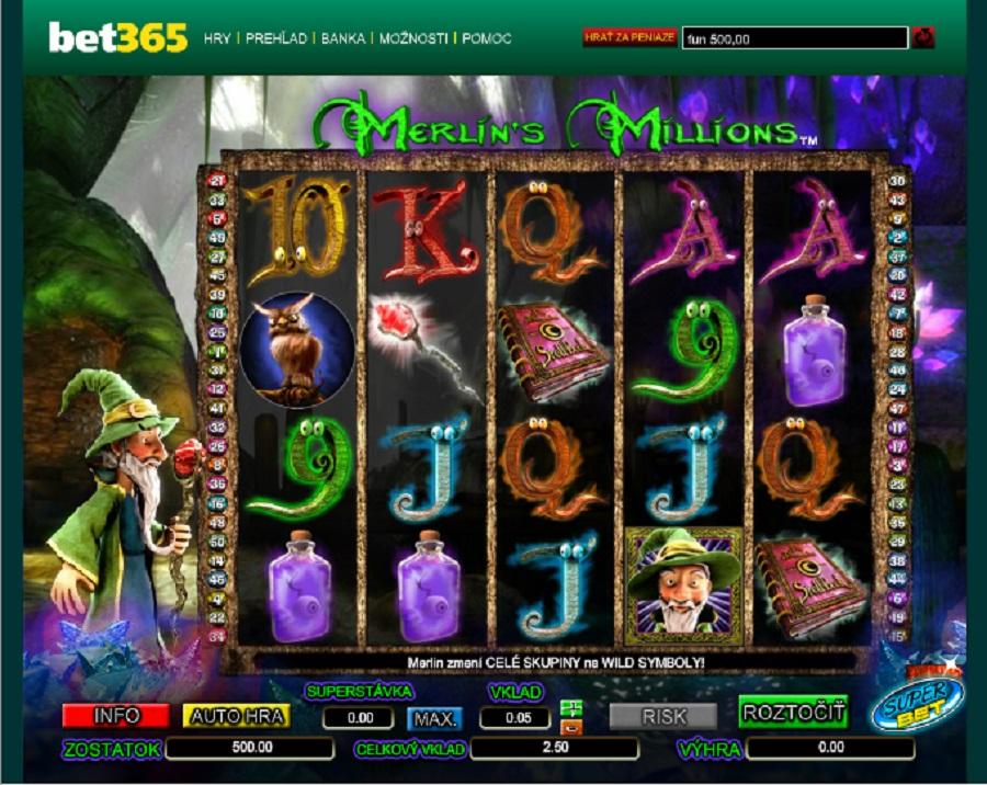 Hrací Automaty Merlin's Milions
