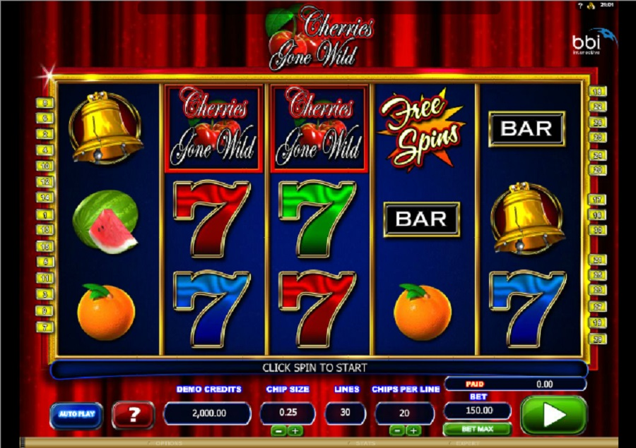 Hrací automaty Cherries gone wild
