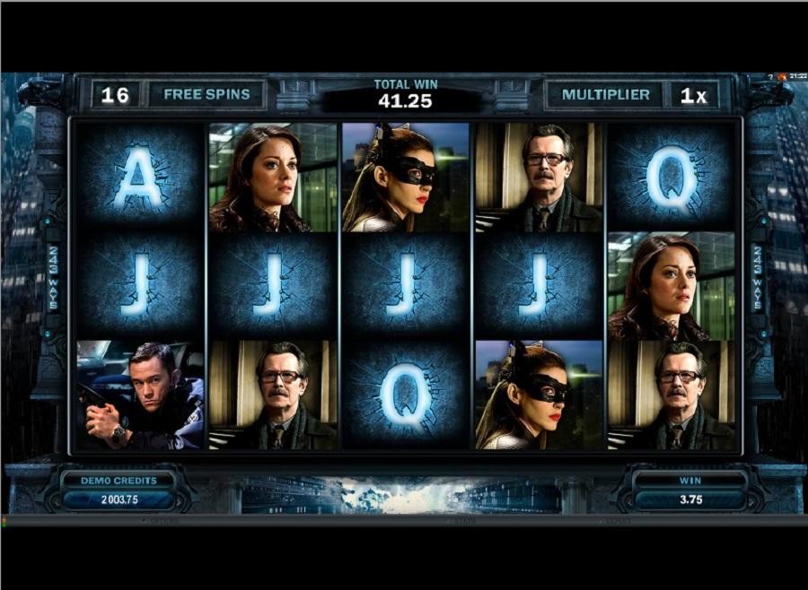 Hrací automaty Dark Knight zdarma