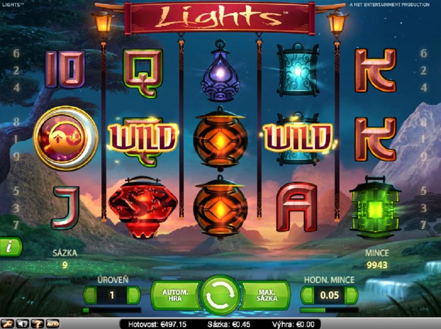 Hrací automaty Lights