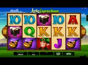 Hrací automaty Lucky Leprechaun