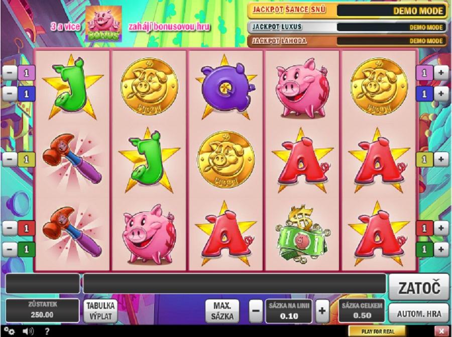 Hrací automaty Piggy Bank