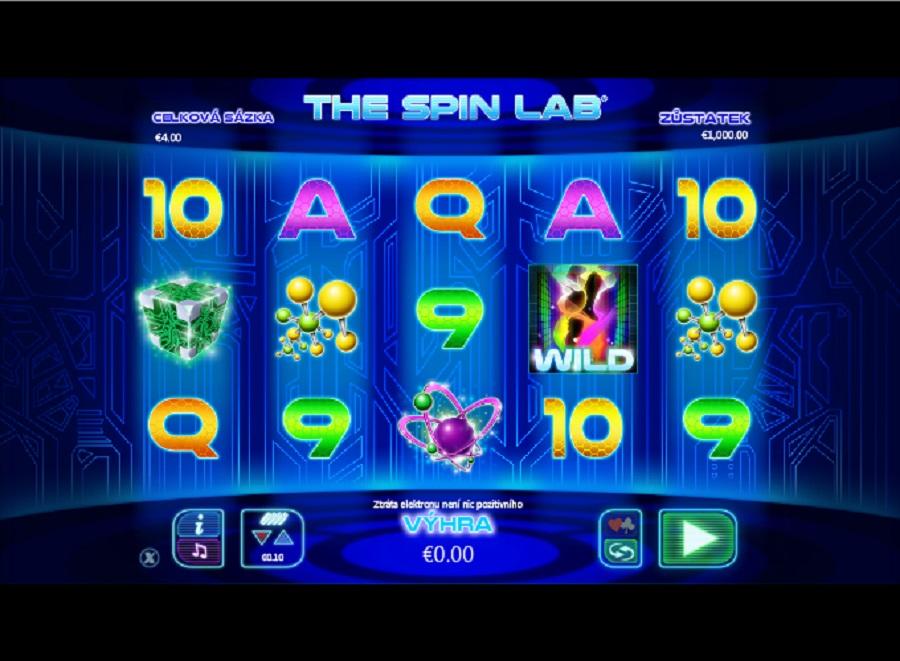 Hrací automaty The spin lab