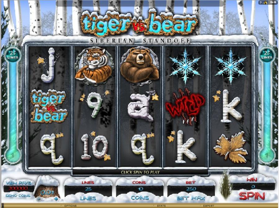 Hrací automaty Tiger vs. Bear