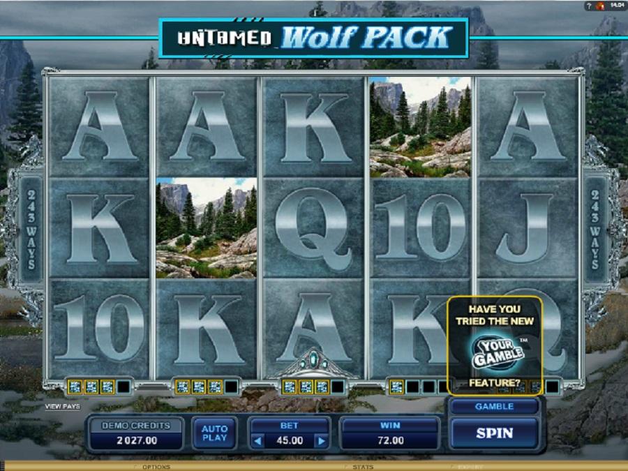 Hrací automaty Untamed wolf pack