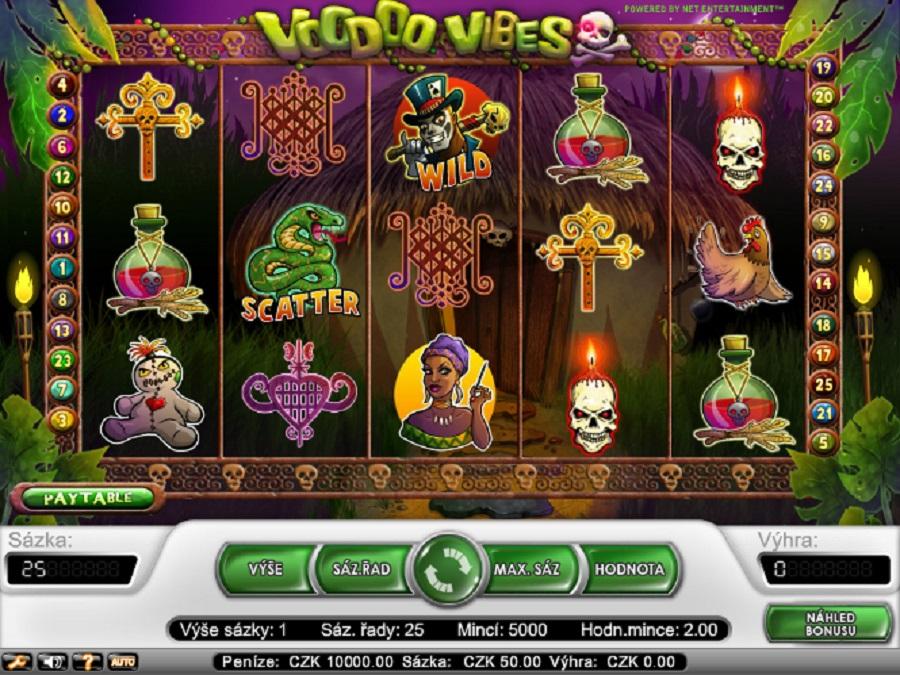 Hrací automaty online Voodoo Vibes online zdarma