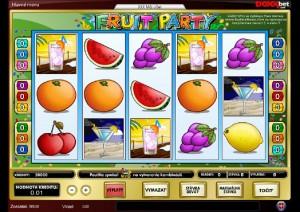 Hracie Automaty Fruit party zadarmo