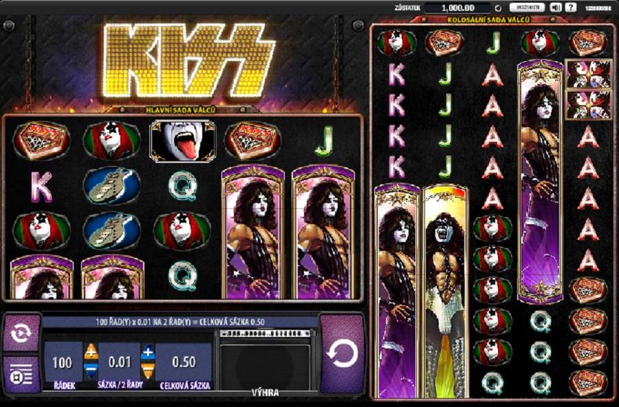 Hracie automaty Kiss