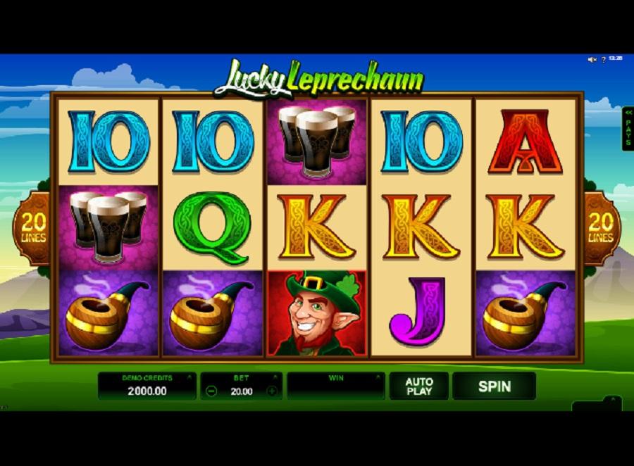 Hracie automaty Lucky Leprechaun