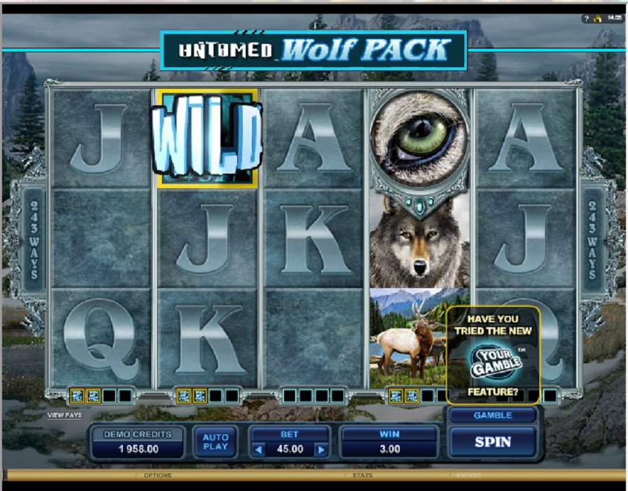 Jednoręki Bandyta Untamed Wolf Pack