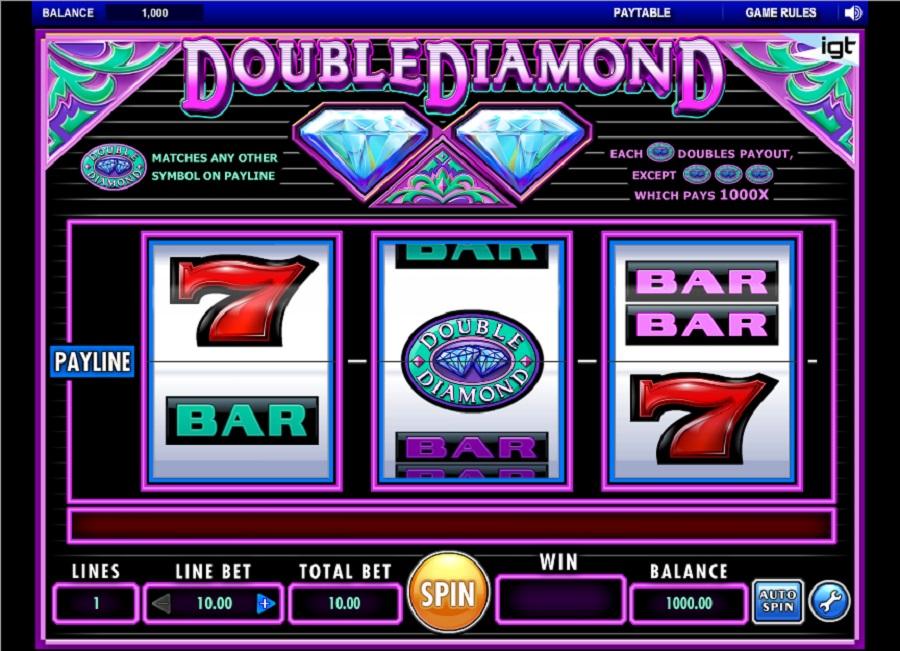 Online Darmowe automaty Double Diamond