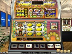 Online hrací automat Jackpot 6000