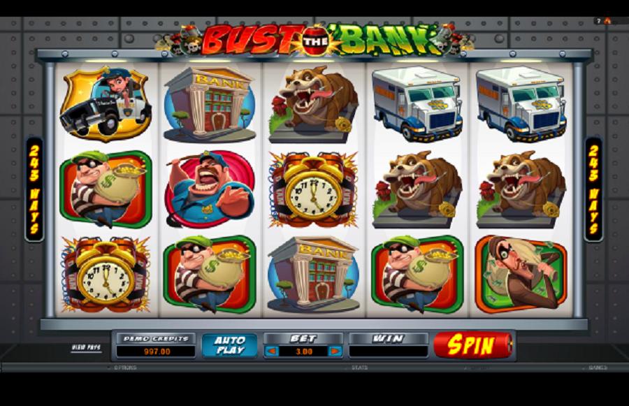 Online kasíno hry Bust the Bank zadarmo