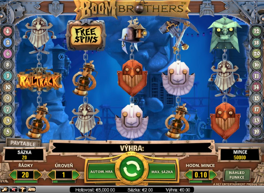 Video slots Boom brothers