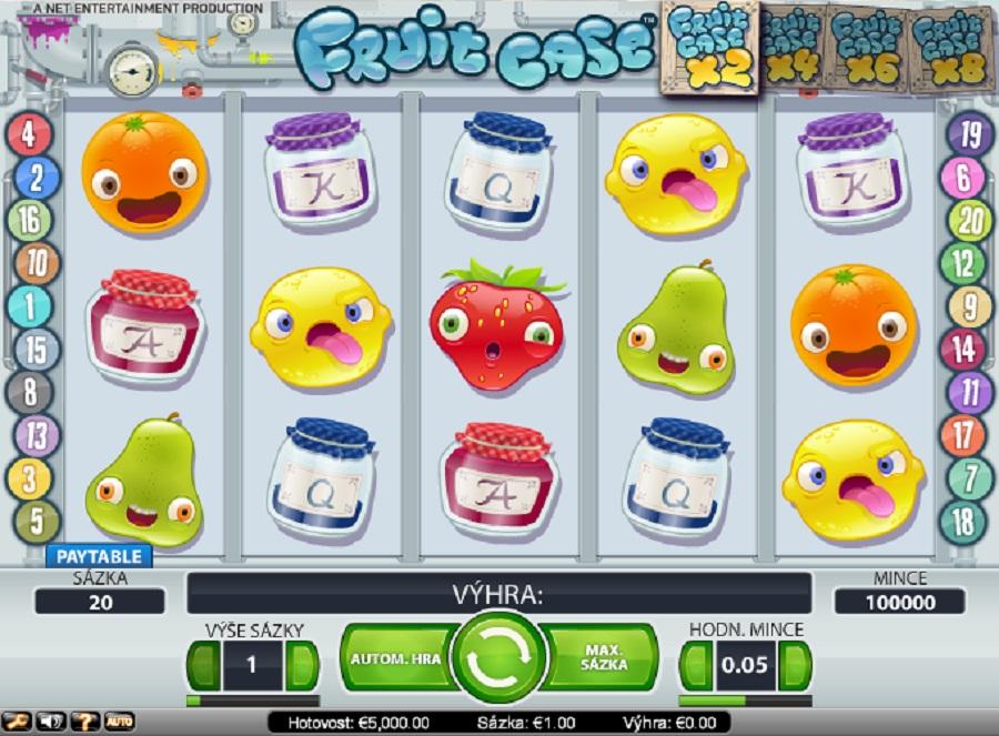 Výherné automaty Fruit Case