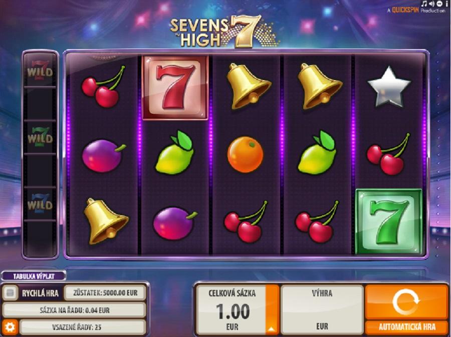 Výherní automaty Seven high