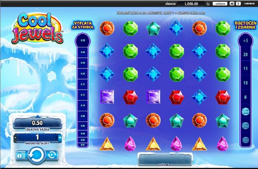 Výherní hrací automaty Cool Jewels