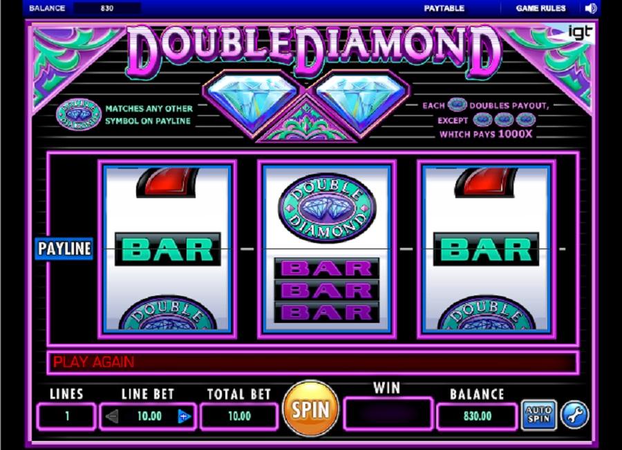 Výherný automat Double Diamond