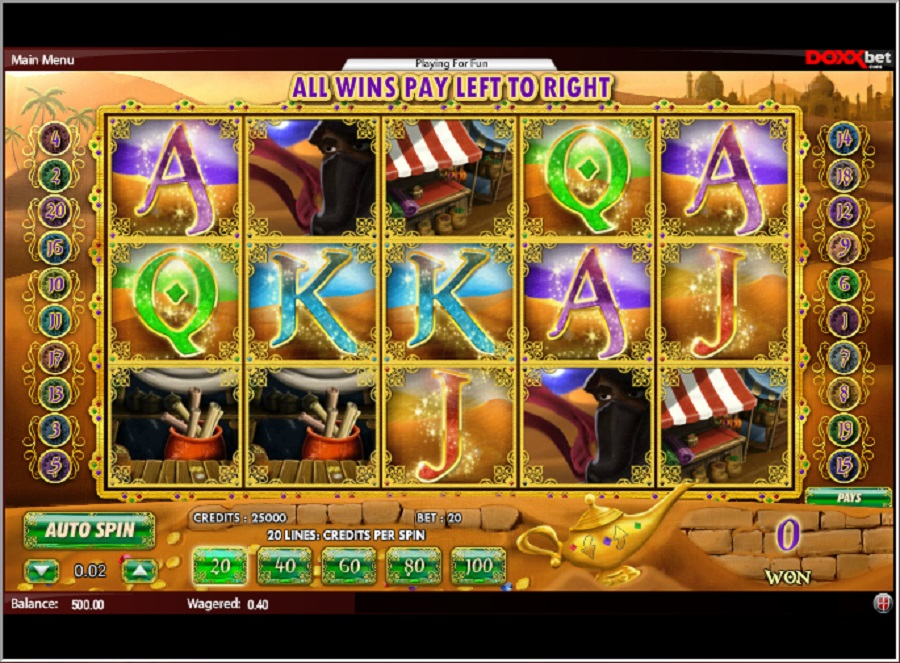 Alladin's Legacy Slot Game