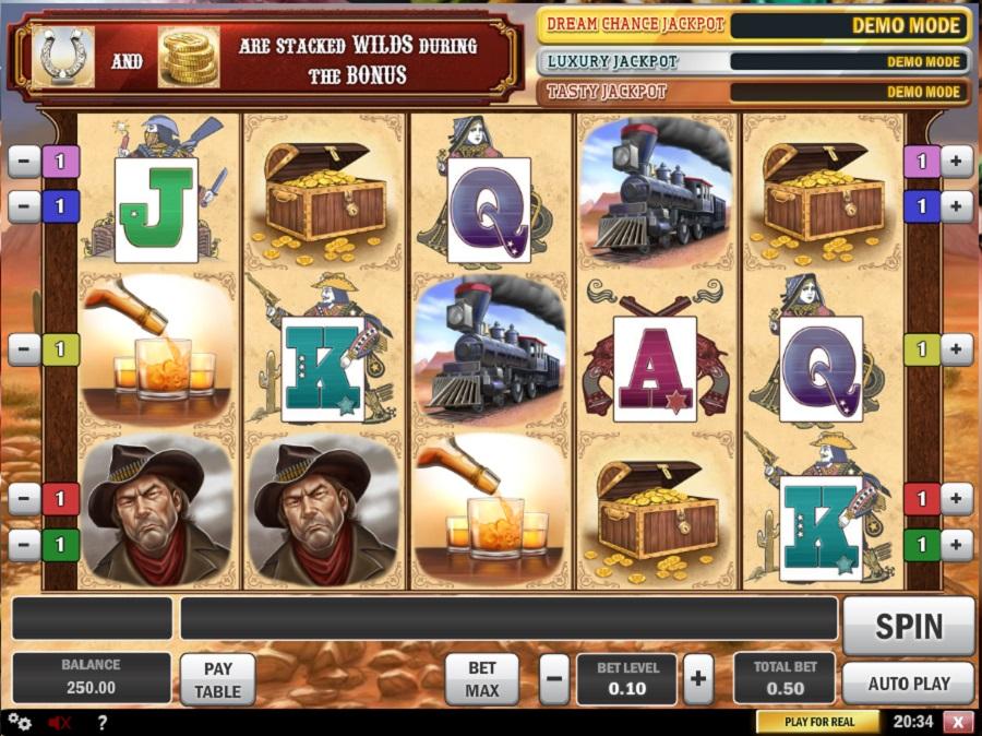Automaty Darmowe Cowboy Treasure