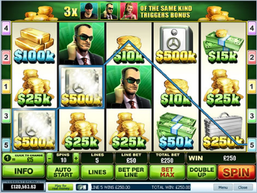 Automaty Online Spin 2 Million Dollar