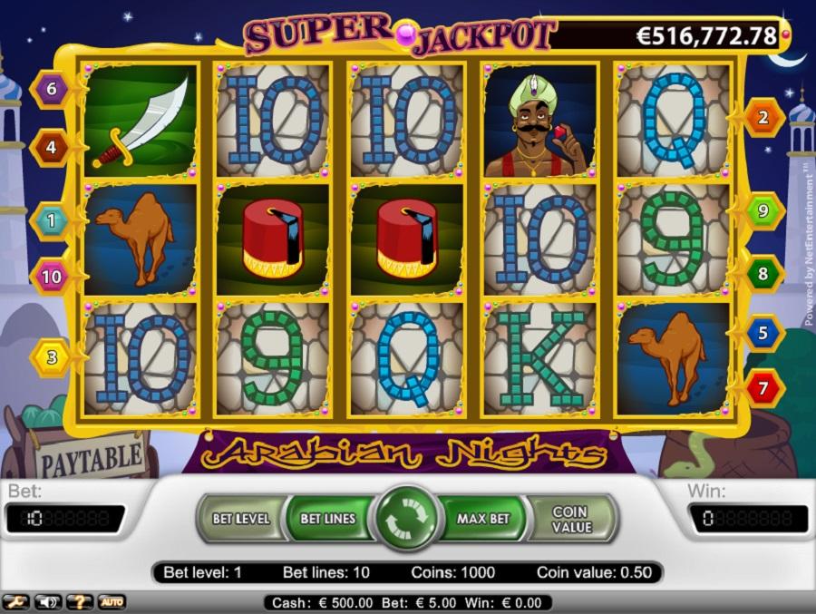 Automaty do gry Arabian Nights