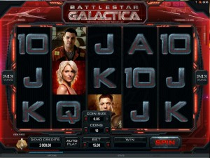 Automaty do gry Battlestar Galactica