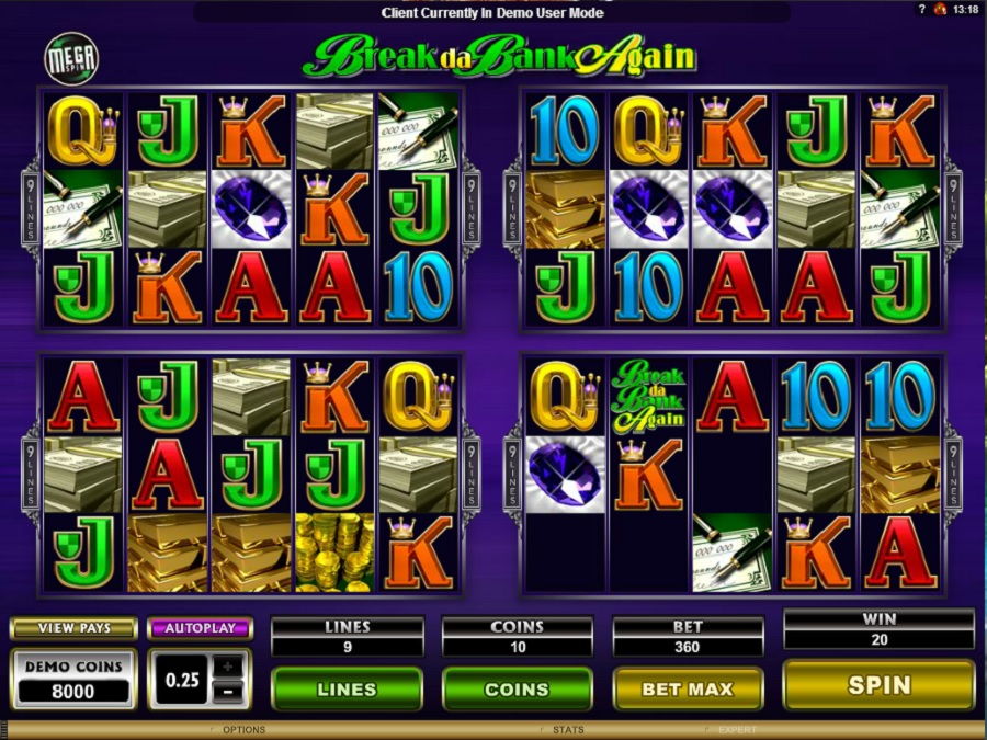 Beat the Bank Slot Game