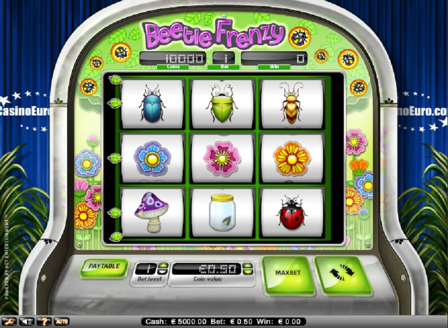 Beetle Frenzy Slot Game